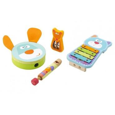 Instrumenty muzyczne dla dziecka mały zespół Sevi