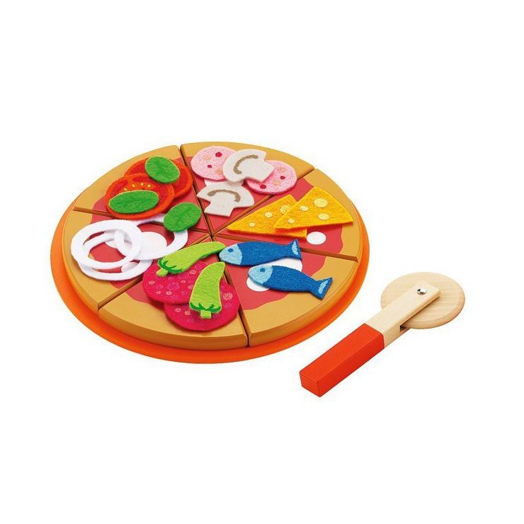 Zestaw do pizzy 8 el. + 22 składniki Sevi
