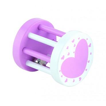 Grzechotka sensoryczna - dzwoneczek różowy Viga