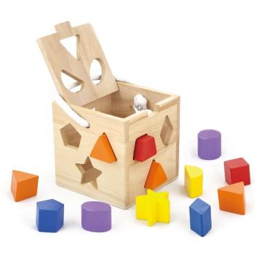 Sorter kształtów - kwadrat Viga