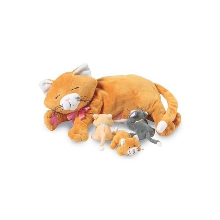 Karmiąca mama kotka, maskotka Manhattan Toy