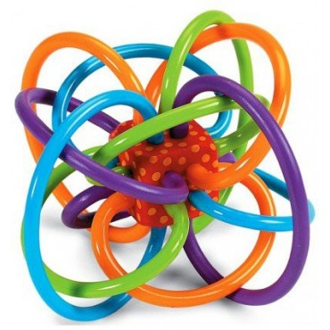 Przestrzenny gryzaczek dla dzieci Manhattan Toy