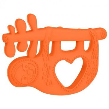 Silikonowy gryzak Leniwiec Manhattan Toy