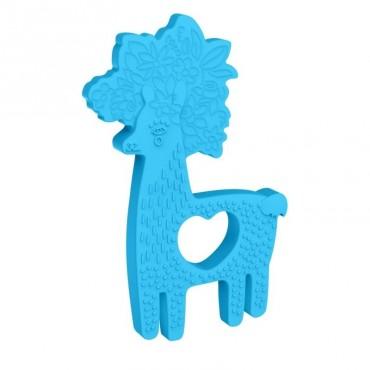 Silikonowy gryzak Lama Manhattan Toy
