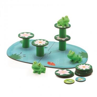 Gra zręcznościowa Balansujące żabki Djeco