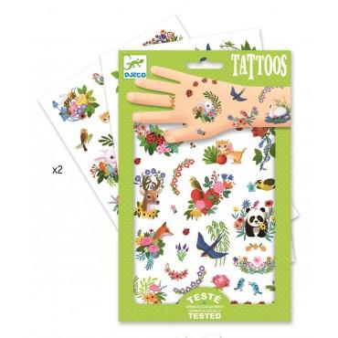 Tatuaże Wesoła wiosna Djeco