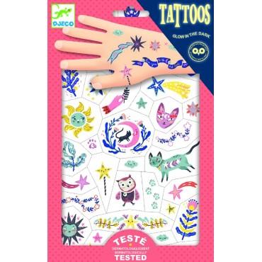 Tatuaże Sny świecące w ciemności Djeco