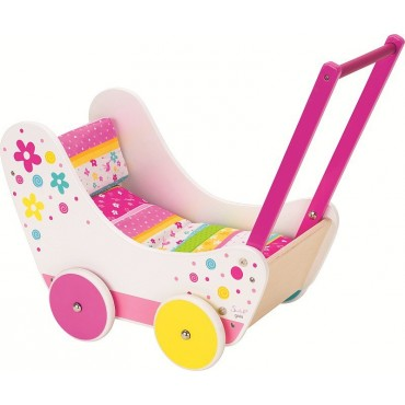 Wózek dla lalek z pościelą Eimi Susibelle Goki