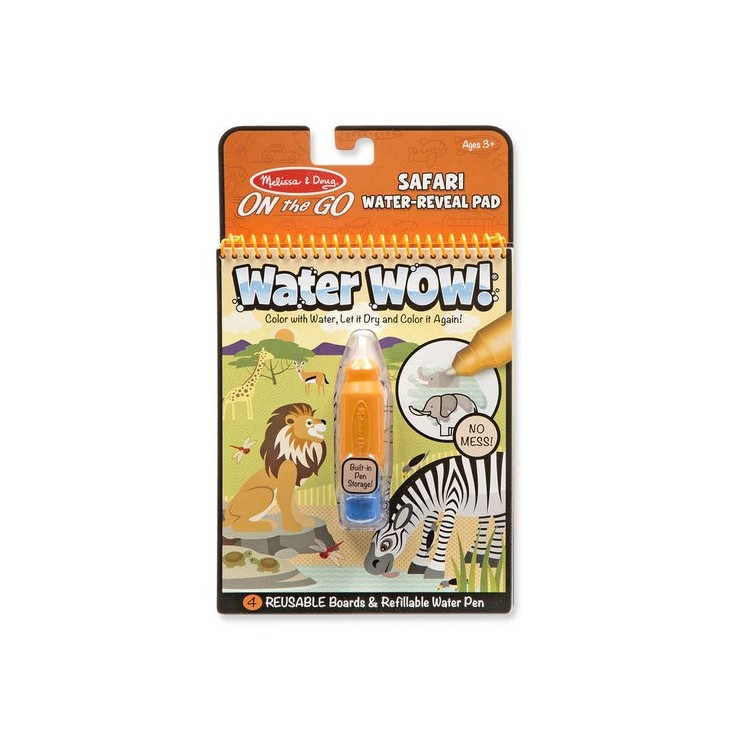 Kolorowanka wodna WaterWOW Safari Melissa&Doug