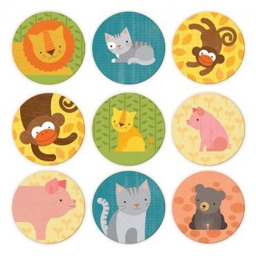 Gra Memory Zwierzęta Petit Collage