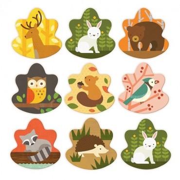 Gra Memory Zwierzęta Leśne Petit Collage