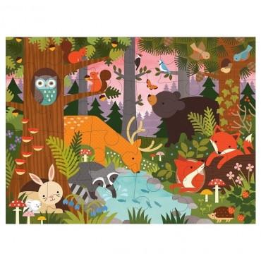 Puzzle Podłogowe Las Petit Collage
