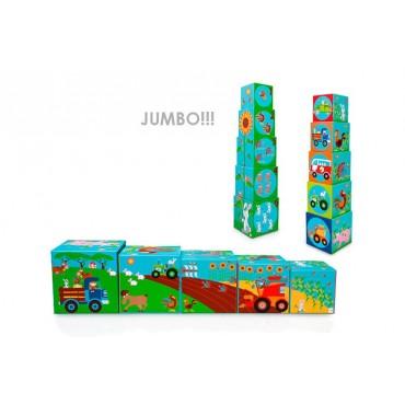 Piramida edukacyjna Jumbo Farma, Scratch