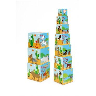 Piramida edukacyjna Zwierzęta świata 2 Scratch