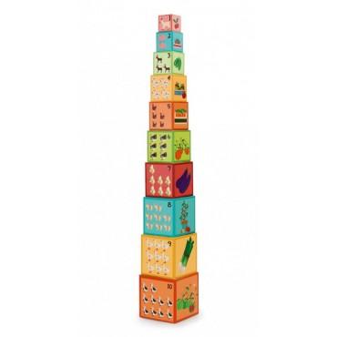 Piramida edukacyjna Farma 2 Scratch