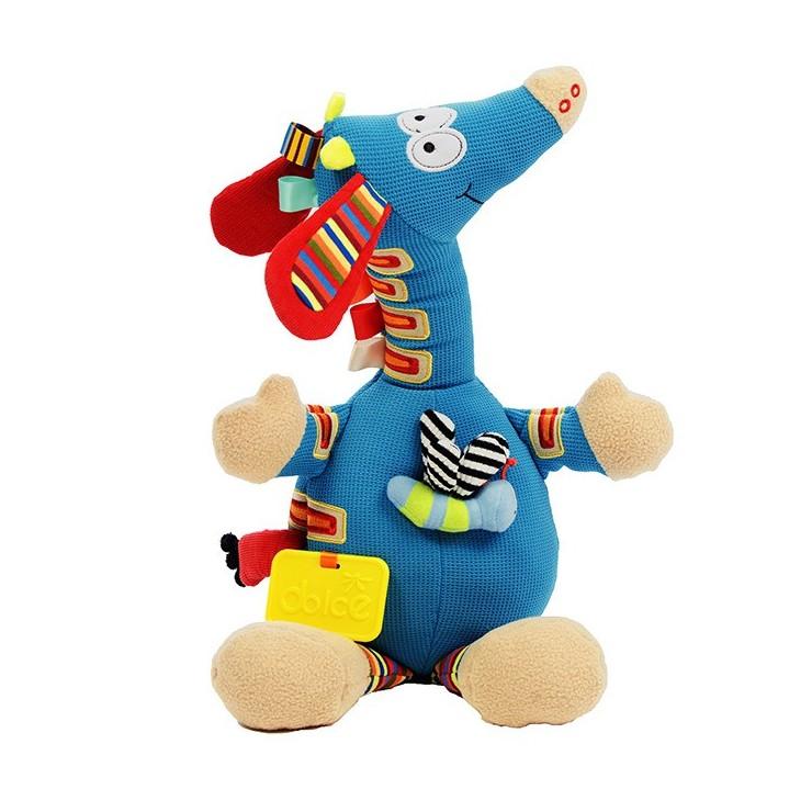 Muzyczna Żyrafa zabawka sensoryczna Dolce
