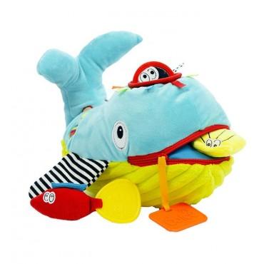 Ucz się i baw Wieloryb zabawka sensoryczna Dolce