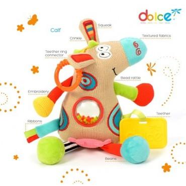 Mały Cielaczek zabawka sensoryczna Dolce