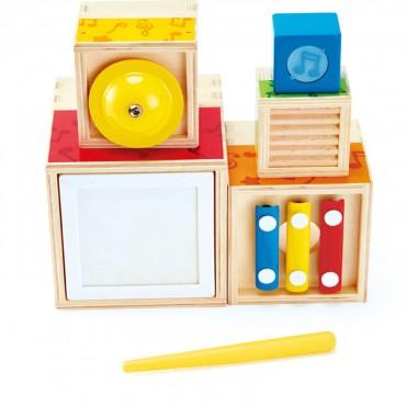 Muzyczne pudełka  Hape