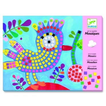 Mozaiki piankowe Ptaszki i biedronki Djeco