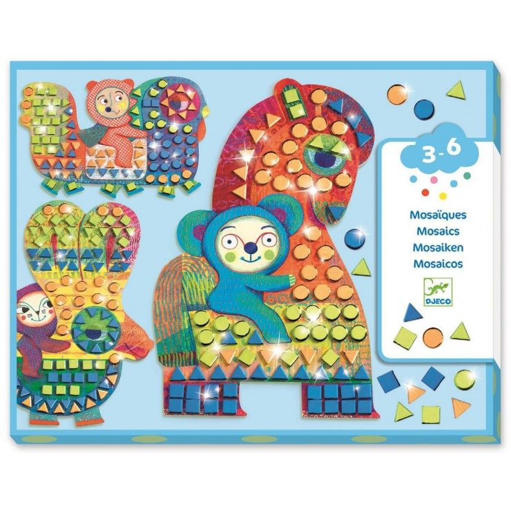 Mozaiki dla maluchów Na Grzbiecie Djeco