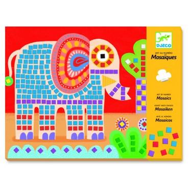 Mozaiki Słonie i ślimaki Djeco