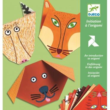 Origami z naklejkami Zwierzaki Djeco