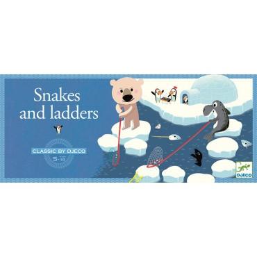Gra planszowa - węże i drabiny Djeco