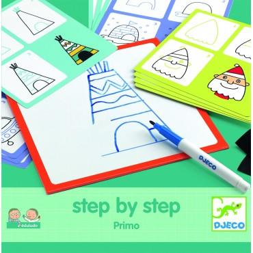 Eduludo Rysowanie krok po kroku Primo Djeco