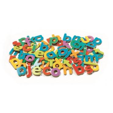 Małe literki magnetyczne 83 sztuki Djeco