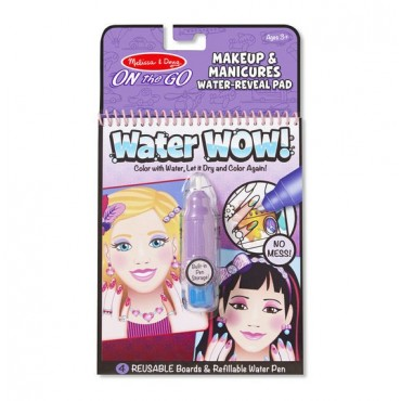 Kolorowanka WaterWOW! Makeup and Manicures Melissa & Doug