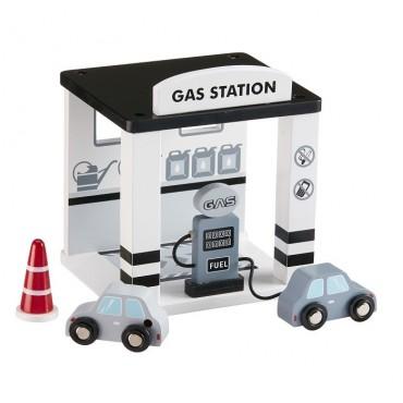 Drewniana Stacja Benzynowa Kids Concept