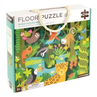 Puzzle Podłogowe Dżungla Petit Collage