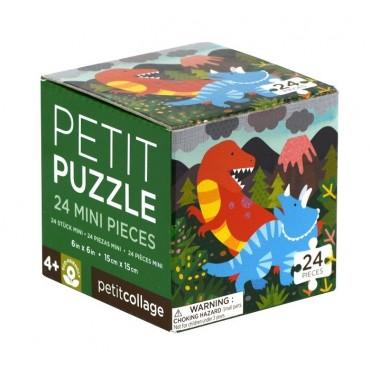 Puzzle Mini Dinozaur Petit Collage