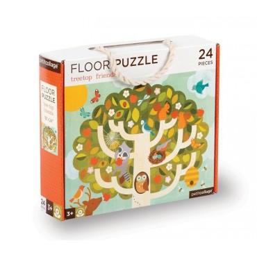 Puzzle Podłogowe Drzewo Petit Collage