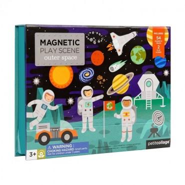 Układanka Magnetyczna Kosmos Petit Collage
