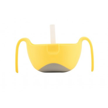 Miseczka ze słomką lemon sherbet B.Box