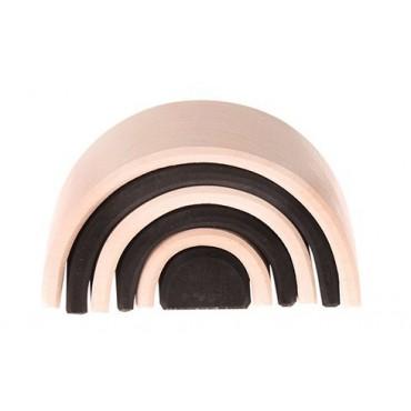 Mały 6-elementowy czarno-biały tunel Grimm's