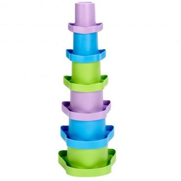 Wieża z kubeczków Green Toys