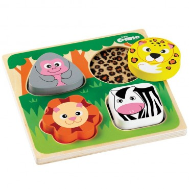 Puzzle sensoryczne Safari Tidlo