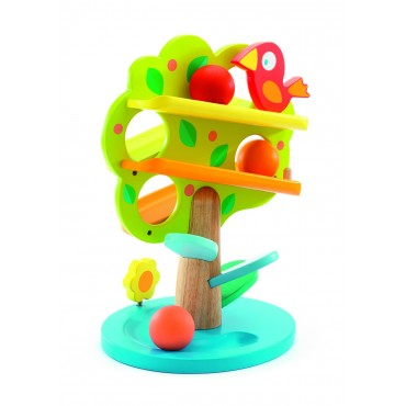 Zabawka wczesnorozwojowa- kulodrom drzewko Djeco