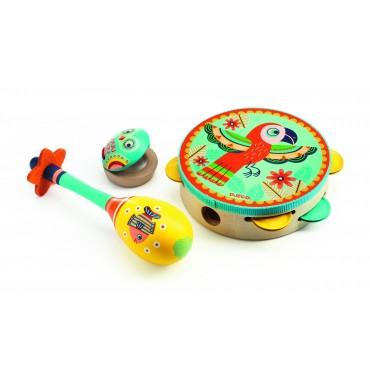 Zestaw 3 instrumentów Djeco
