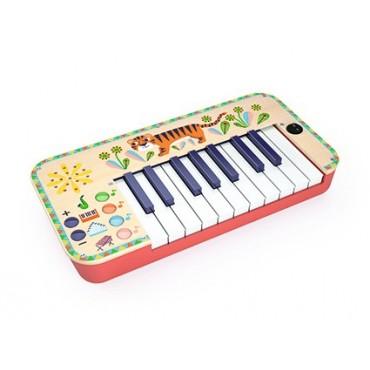 Syntezator- pianinko Djeco