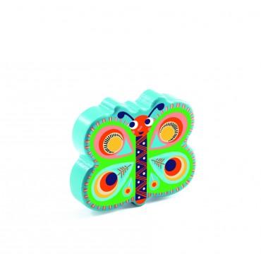 Drewniany marakas Motylek Djeco