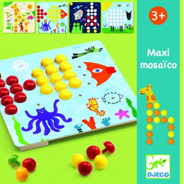 Kolorowa mozaika MAXI Djeco