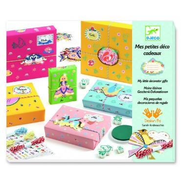 Zestaw do tworzenia małych opakowań na prezenty Djeco