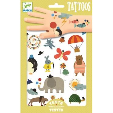 Tatuaże malutkie rzezy Djeco