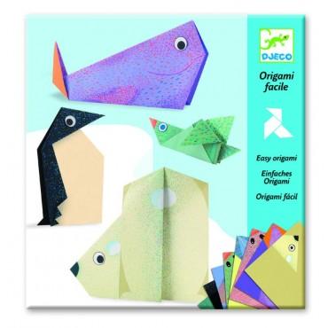 Origami zwierzęta polarne Djeco