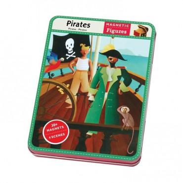Magnetyczne postacie Piraci 6+  Mudpuppy