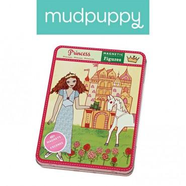 Magnetyczne postacie Księżniczki 6+  Mudpuppy